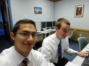 Elder Breinholt and Elder Liu