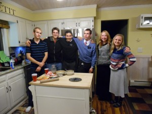 Missionaries in Kitchen