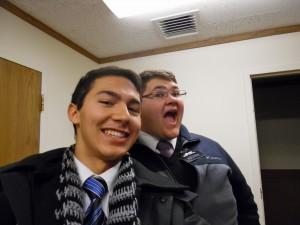 Tyler and Hudson