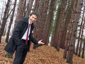 Tyler in Forest
