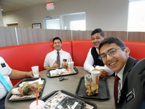 Elders at Burger King