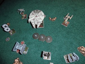 Star Wars Mini Ships