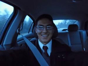 Tyler Selphie Passenger in Car