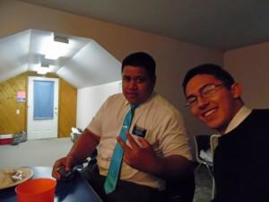 Tyler with Elder Fiami