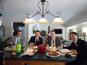Dinner with Investigators