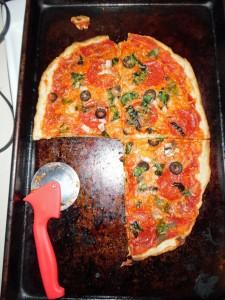 Three Quarters of a Pizza