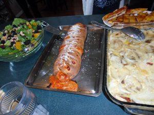 Calzone Dinner